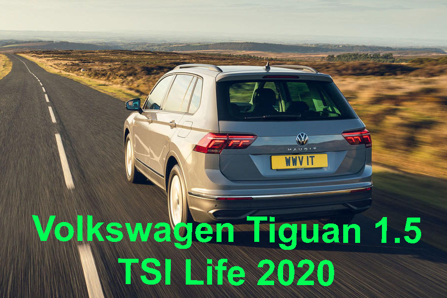 Volkswagen Tiguan 1.5 TSI life 2020 united kingdom best review